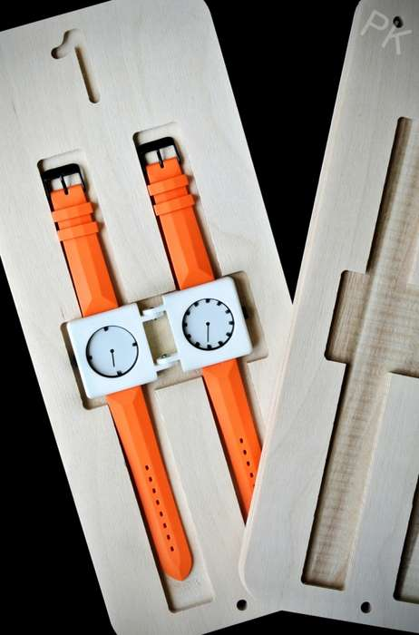 Terrific Twin Timepieces