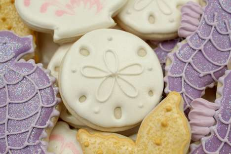 Beachy Iced Biscuits - These Sand Dollar Cookies Were Made for Sunny Summer Vacations