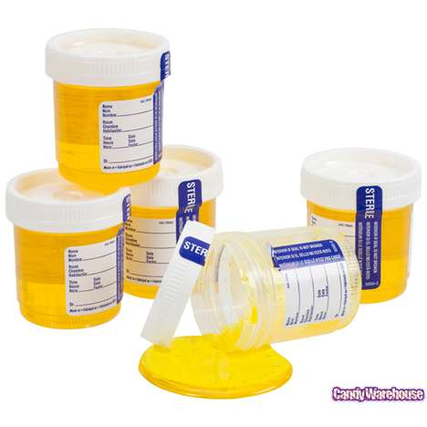 Deceiving Urine Sample Treats - Candy Warehouse Offers a Mouth-Watering Pour of Sour Liquid Candy