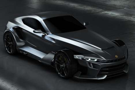 Batmobile-Inspired Supercars
