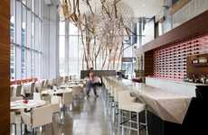 Entangled Installation Eateries - The Aria Ristorante Features Eye-Catching Fixtures