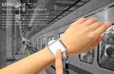 Transport-Savvy Braille Watches - 'Metro Dot' Helps the Visually Impaired Ride the Subway with Ease