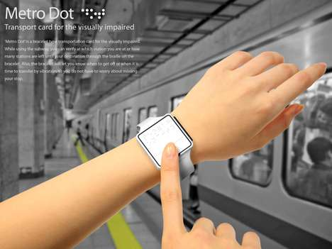 Transport-Savvy Braille Watches