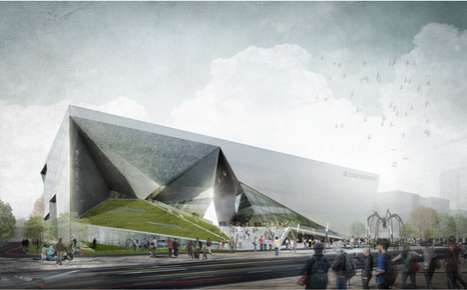 Contorted Plane Pavilions