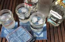 DIY Upcycled Jean Coasters