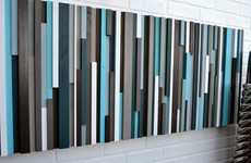 Multi-Hued Bed Frames - These Megan Toro Wood Sculpture Headboards are Rich and Magnificent
