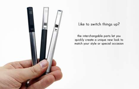 Interchangeable Ballpoint Refills