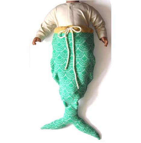 Sea Creature Blankets - The Mermaid Tail Sleeping Bag Will Keep Your Child Cozy