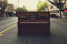 Twitter-Controlled Instruments - Stanley the Piano Will Play Song Requests From Tweets