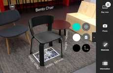 Augmented Reality Decor Testers