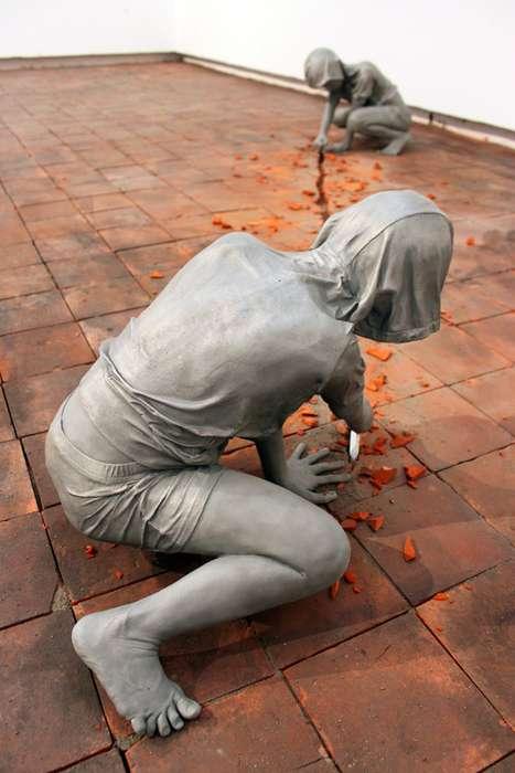 Floor Destroying Mannequins