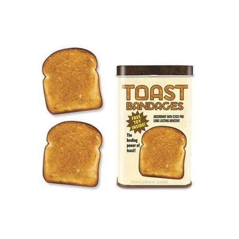 The Toast Bandages Will Cover Up Cuts With Carbs