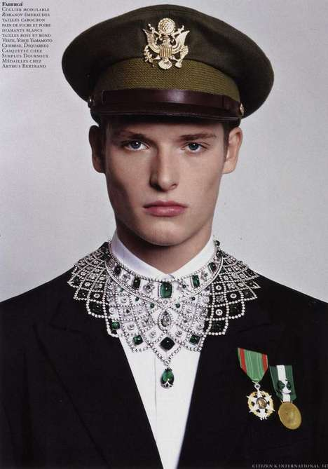 Ornate Cadet Couture