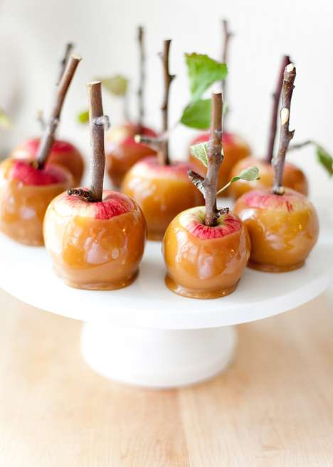 Twigged Candy Apples