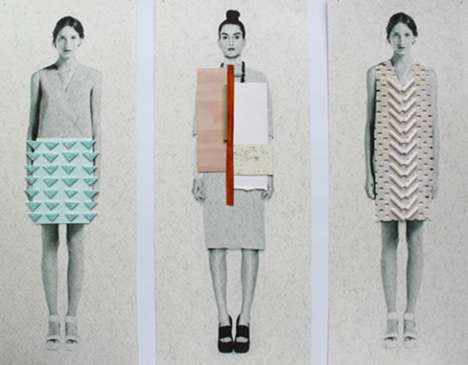 Trippy Printed Textile Looks