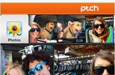 Handheld Video Remixing Apps - The Ptch App Lets You Use Pictures, Videos and Music From Your Phone