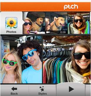 The Ptch App Lets You Use Pictures, Videos and Music From Your Phone