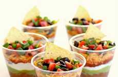 Individualized Salsa Appetizers - The 'Girl Who Ate Everything' Blog Shows How to Make a Layered Dip