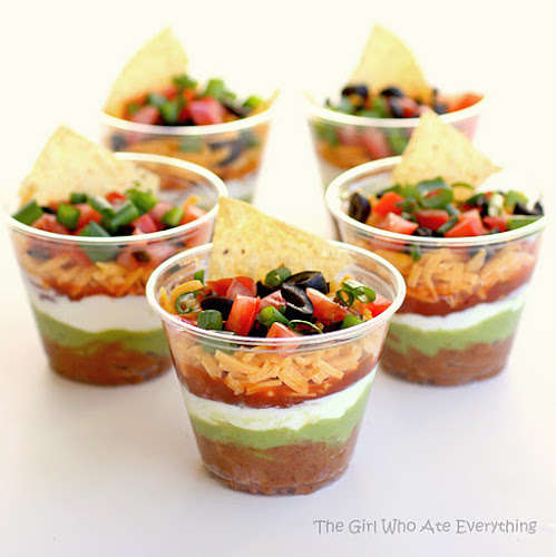Individualized Salsa Appetizers