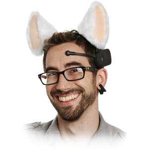 Robotic Feline Headwear