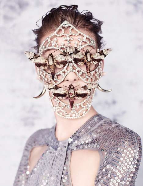 Insect-Covered Fashion Films