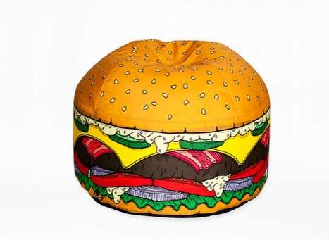 Hamburger Bean Bags