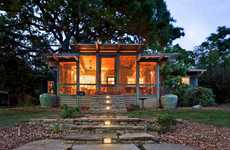 Wild Woodsy Homes - The 'Tree House Porch' by John Grable Architects is Divine