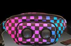 Stylish Fanny Pack Speakers - The JammyPack Attempts to Cure a Fashion Faux Pas