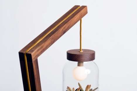 The Terrarium Lamp is a Charming Piece for Your Home