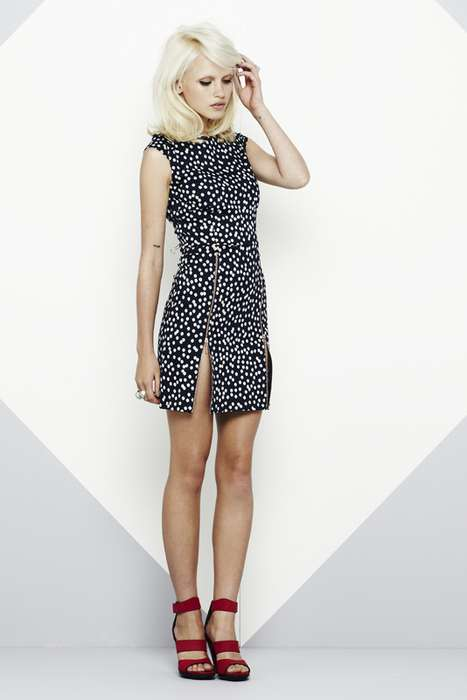 The Maurie & Eve Gem Zipper Dresses are Delightfully Rebellious
