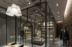 Caged Couture Shops - The Martagon Store by Reiichi Ikeda Features Metallic Framing Accents