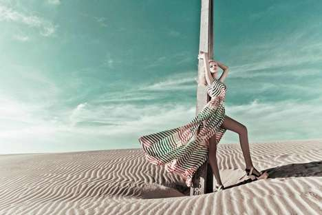 The Cholet Spring/Summer 2013 Campaign is Striking
