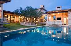Contemporary Courtyard Abodes  - Spanish Oaks by James D LaRue Architects is Welcoming