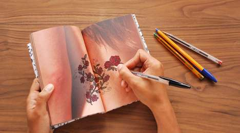 The Tattoo Notebook Brings Out Your Inner Artist