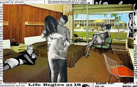 Retro Pop Culture Collages