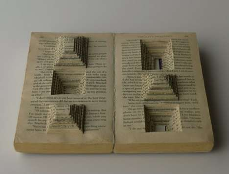 From Cluttered Comic Book Artwork to Ornate Origami Novels