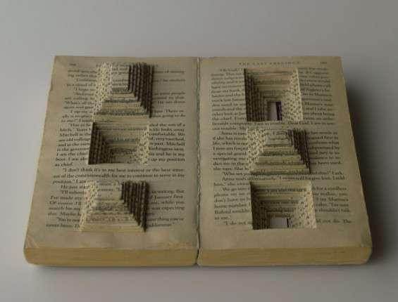13 Examples of Beautiful Book Art