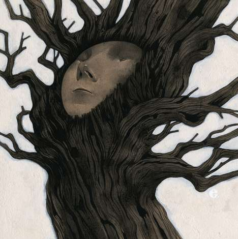 Human Tree Hybrid Illustrations