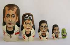Sci-Fi Matryoshka Figurines - The Ghostbusters Nesting Dolls are a Reminder of Who You Should Call