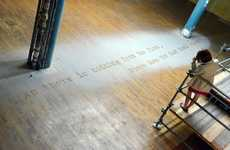 Floor Poem Installations