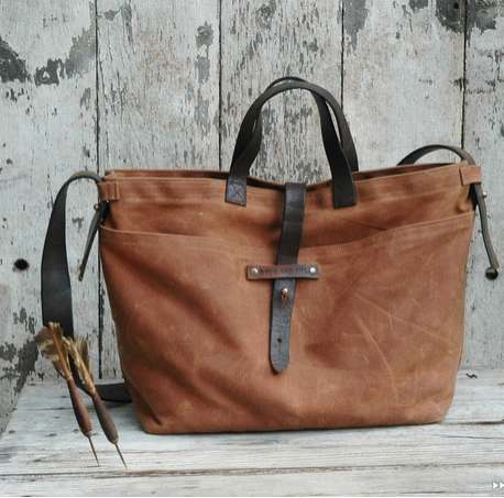Upcycled Vintage Bags - Peg And Awl Reuses Old Leathers And Reclaimed Wood To Make Their Products