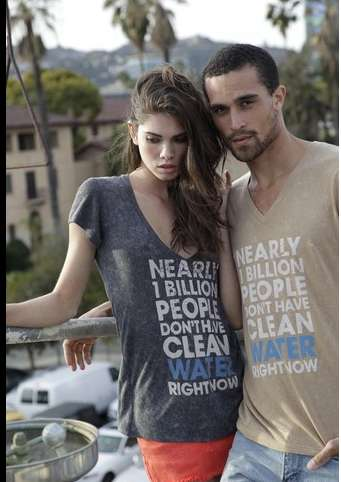 Water-Providing Clothing Lines - Blu Democracy Helps Supply Drinking Water To Those In Need