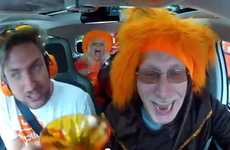 Cheer-Powered Cars - Volkswagen 'Up! Holland Up!' Campaign Awards People Who Scream Loudest