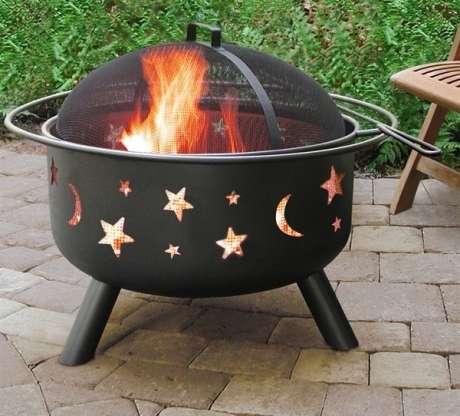 Planetary Patterned Bonfires