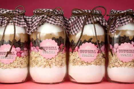 DIY Cookie Recipe Jars - The Bakerella 'Cowgirl' Project is Great for Gift-Giving