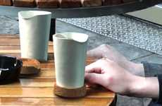 Elegant Lug-a-Mugs - The Alibi Travel Mug Brings Class and Eco-Friendliness to Takeout Coffee