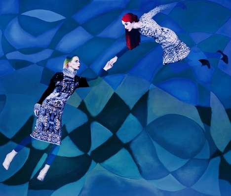 Orante Surrealist Series