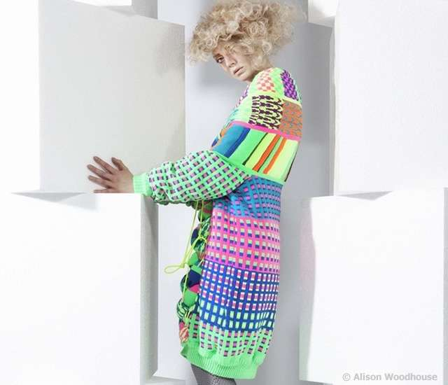Oversized Psychedelic Knitwear