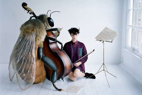 The Uniqlo 'Undercover' Lookbook Features Human-Sized Bugs