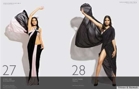 The 'Bikini Sari' by Shivan & Narresh is Stylish & Classy